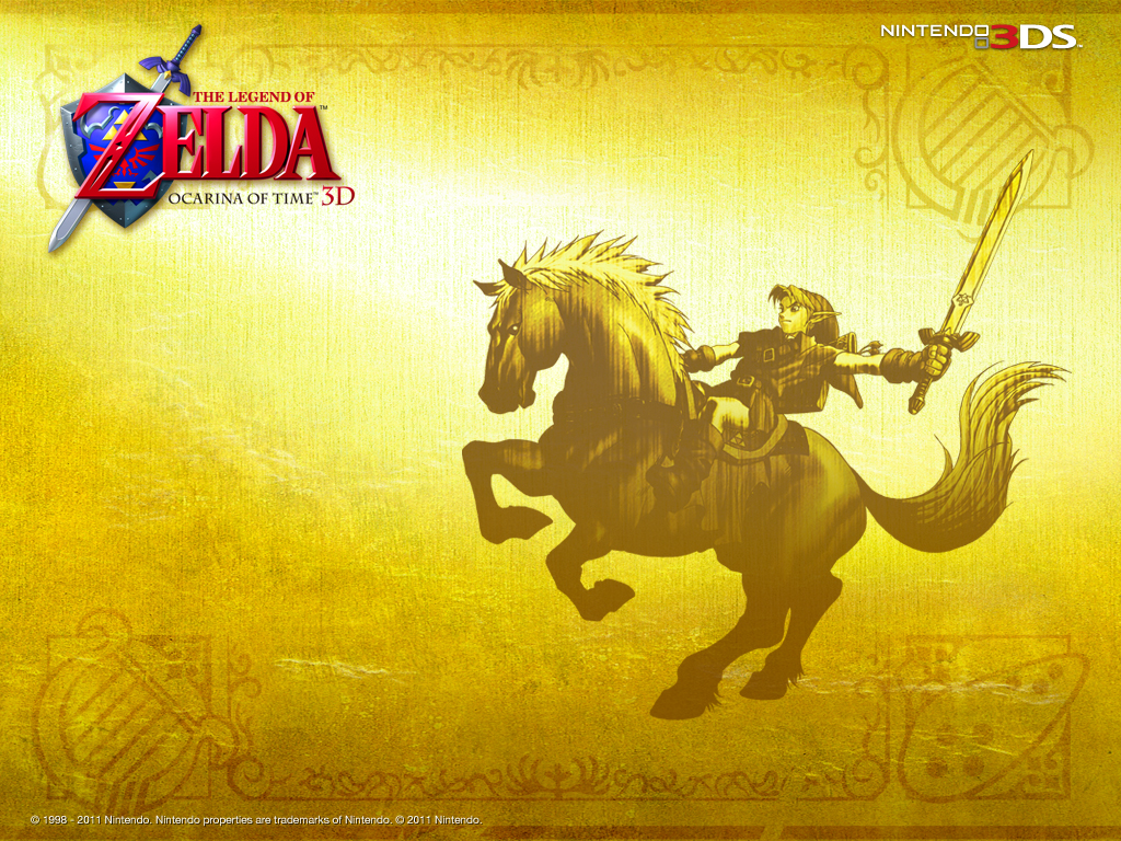 Free download 3DS] Zelda Ocarina of Time 3D Wallpapers