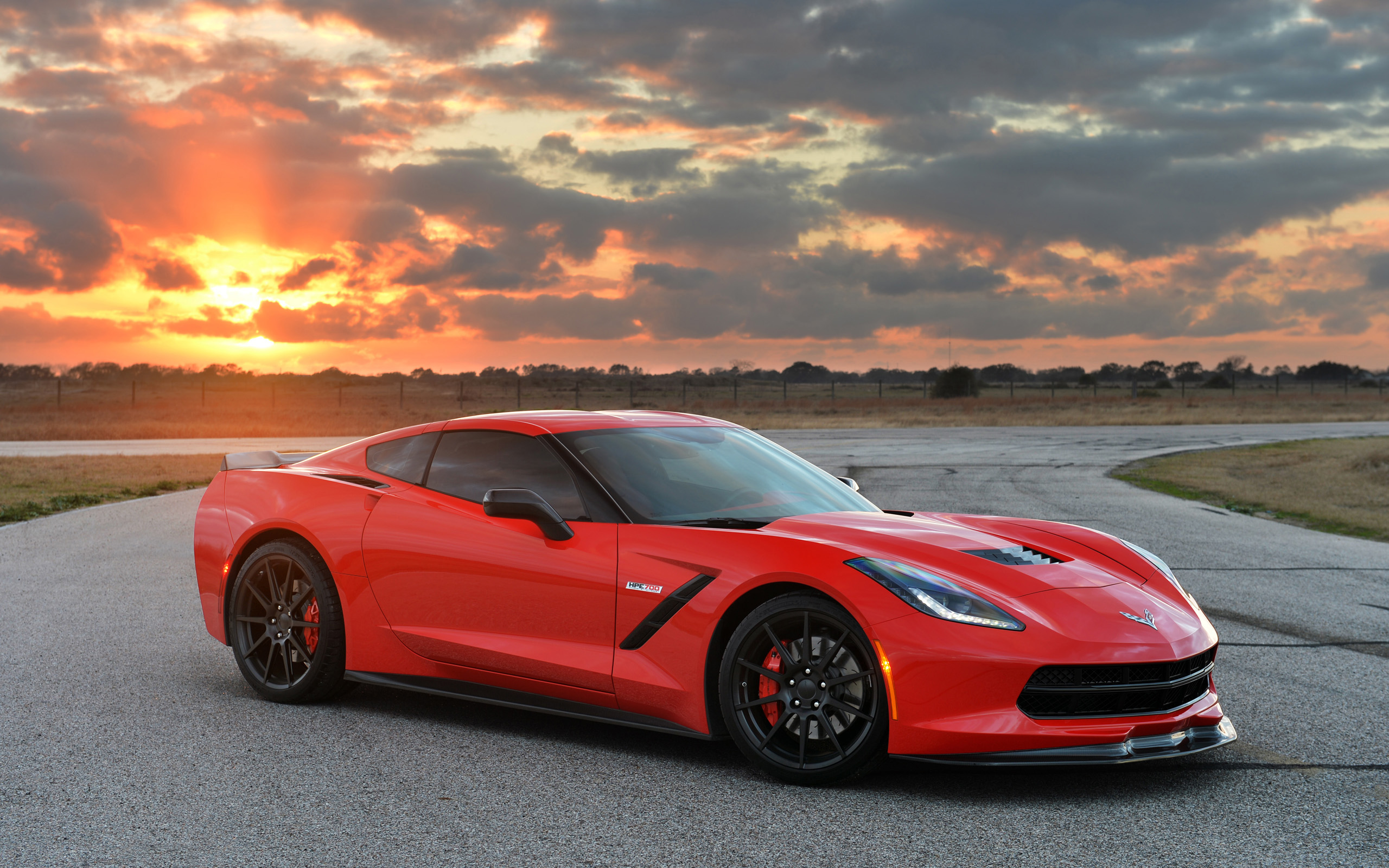 Chevrolet Corvette Stingray HPE700 Twin Turbo By Hennessey Wallpaper 2560x1600