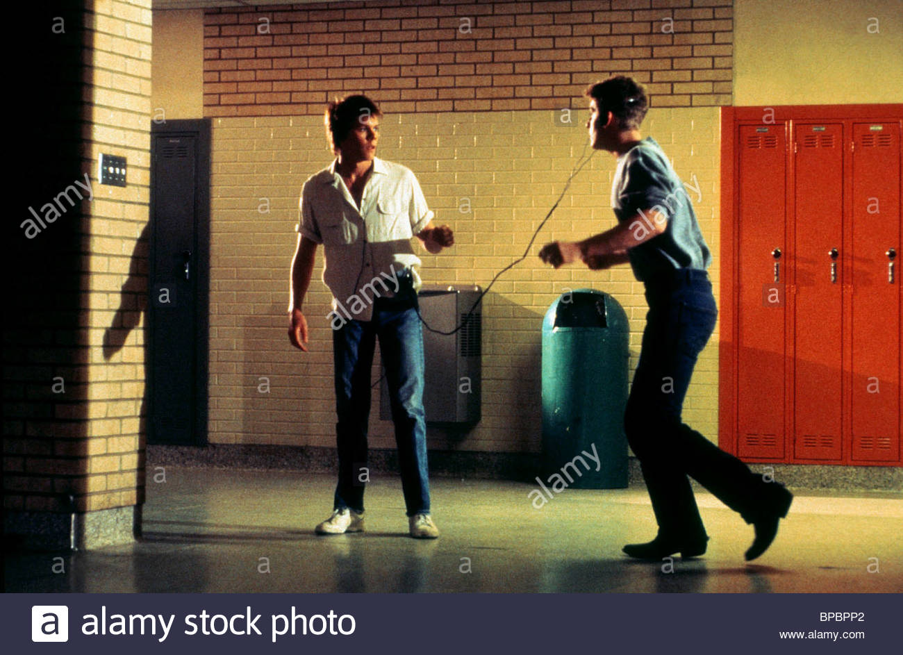 KEVIN BACON CHRIS PENN FOOTLOOSE 1984 Stock Photo 30992138   Alamy 1300x943