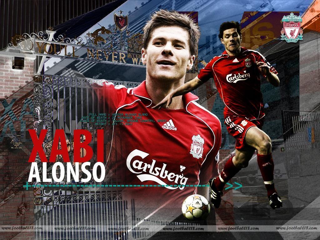 World Sports Hd Wallpapers Xabi Alonso Hd Wallpapers 1024x768