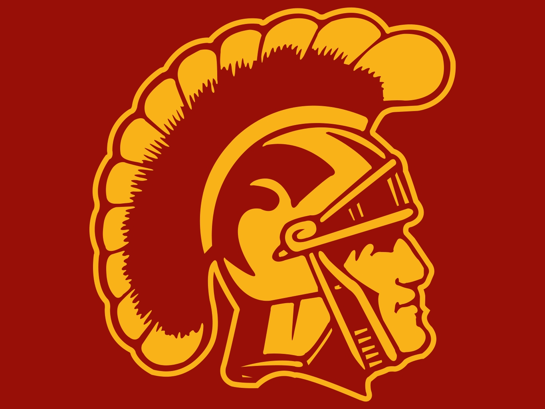 Usc Trojans Football Logo Image 1365x1024