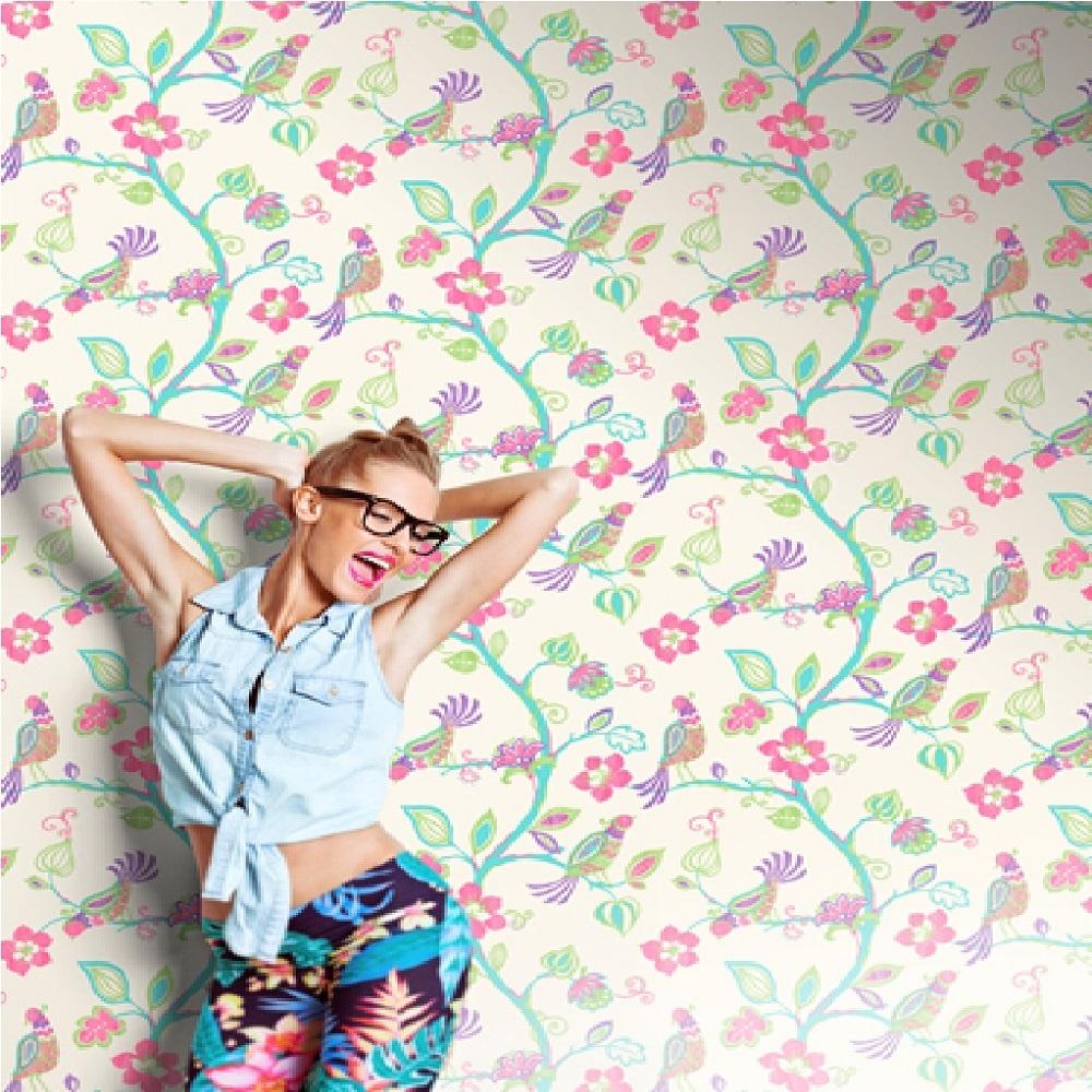 Home Wallpaper CWV CWV Crown Paradise Wallpaper M0740 1000x1000