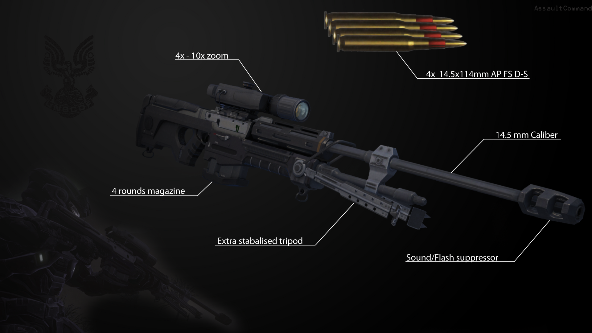 Sniper Rifle Snipers Artwork Wallpapers Hd Desktop And: Halo Wallpaper 1920x1080