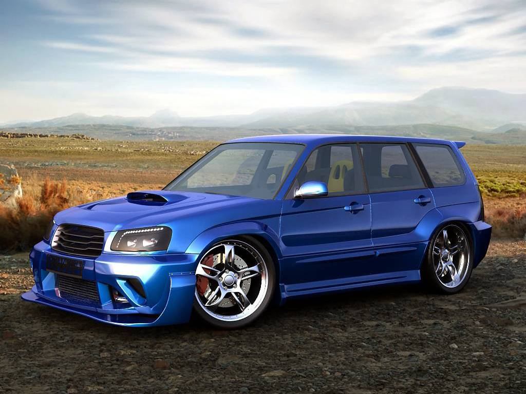 Subaru Forester Wallpaper Subaru Forester Wallpaper HD 1024x768