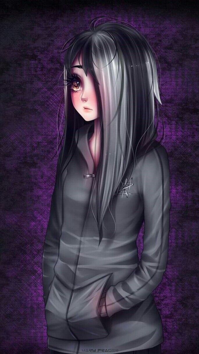Pin by emo girl on wallpapers in 2019 Emo anime girl Anime 684x1216