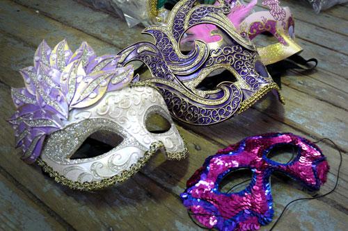 New Masquerade Masks 500x333