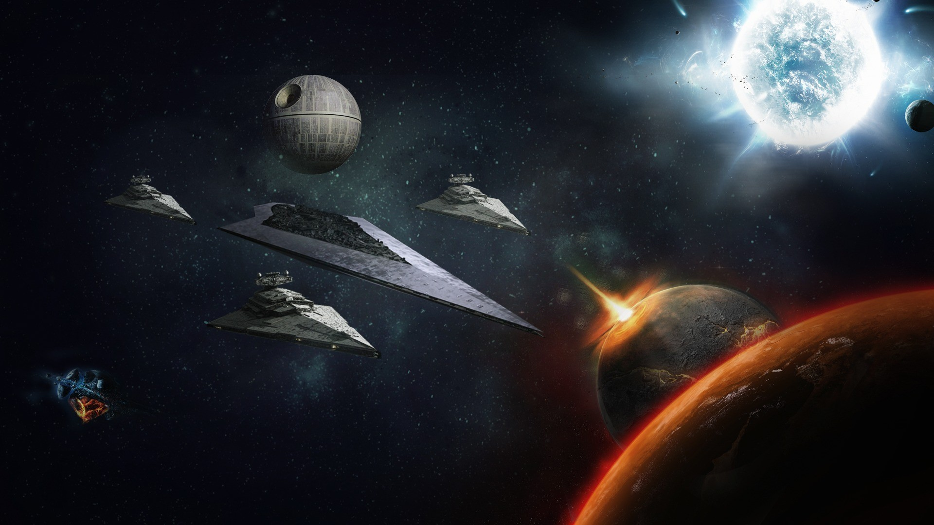 Star Wars Space Wallpaper 70 images 1920x1080