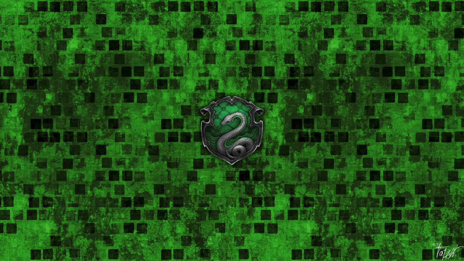 hogwarts house wallpaper   slytherin by theladyavatar d4olab9jpg 1600x900