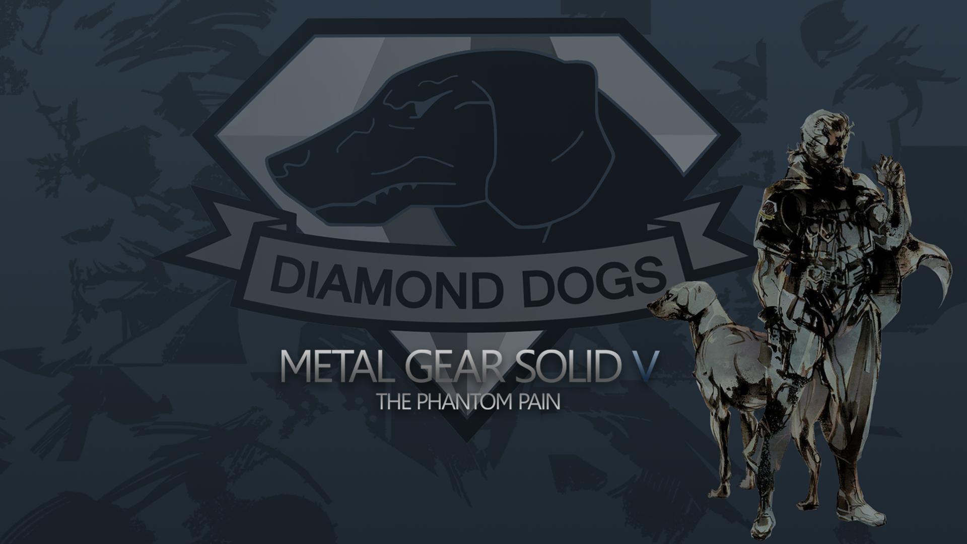 MGSV Diamond Dogs   Wallpaper by SleepingSandman 1920x1080