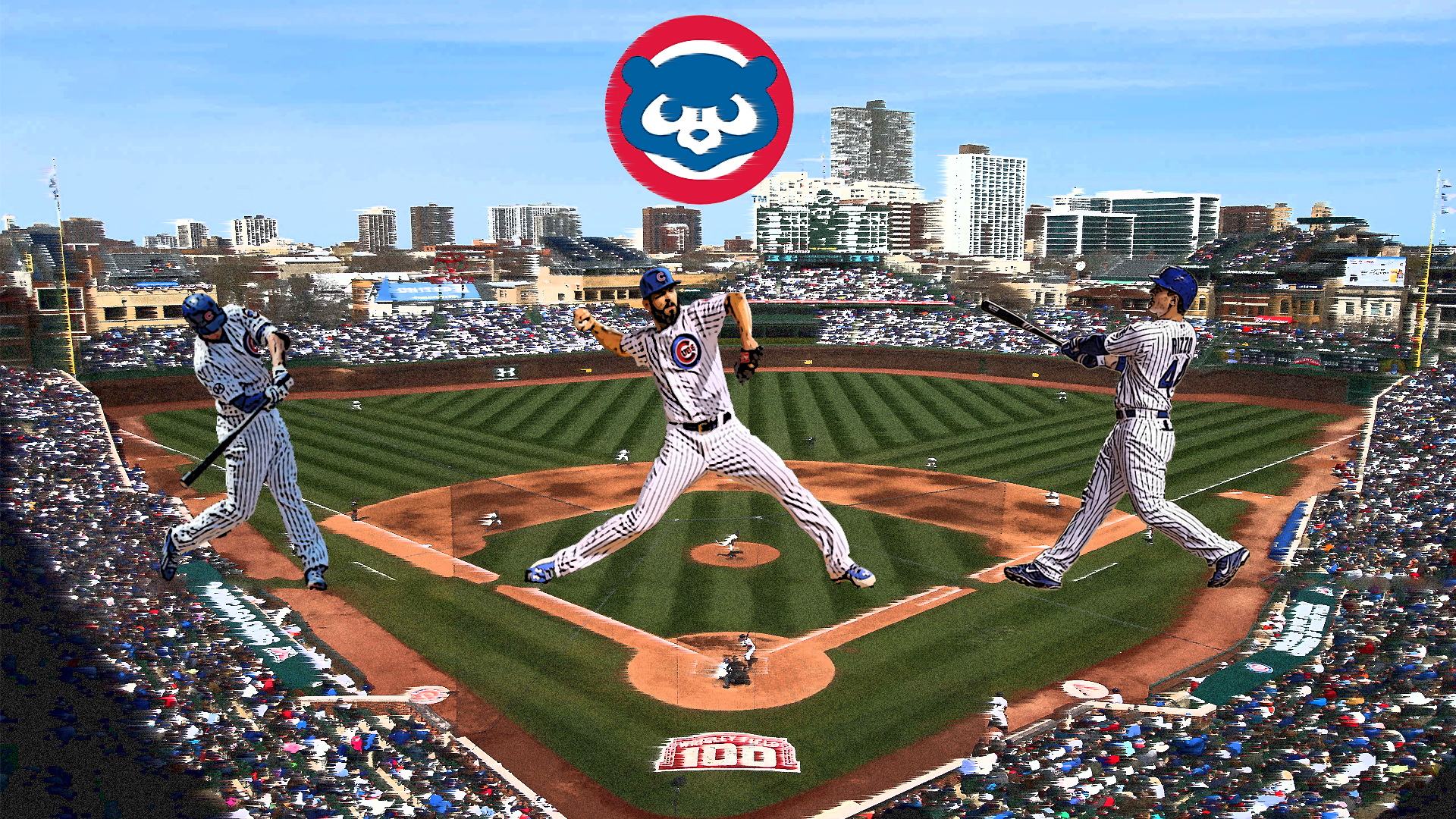 Chicago Cubs Background [1920X1080]   RedditLurker All Reddit Images 1920x1080