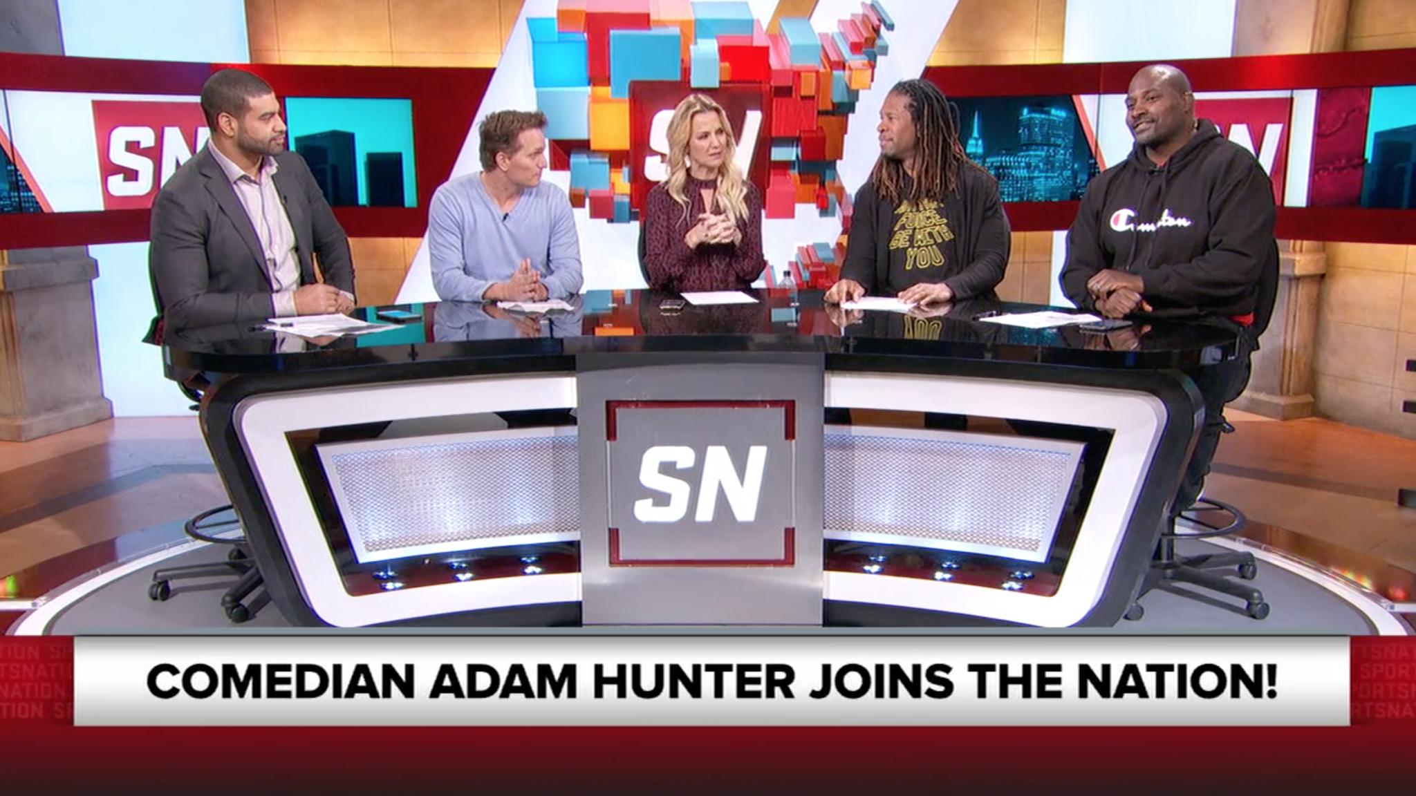 Adam Hunter Makes Appearance on ESPNs SportsNation CLNS Media 2048x1152