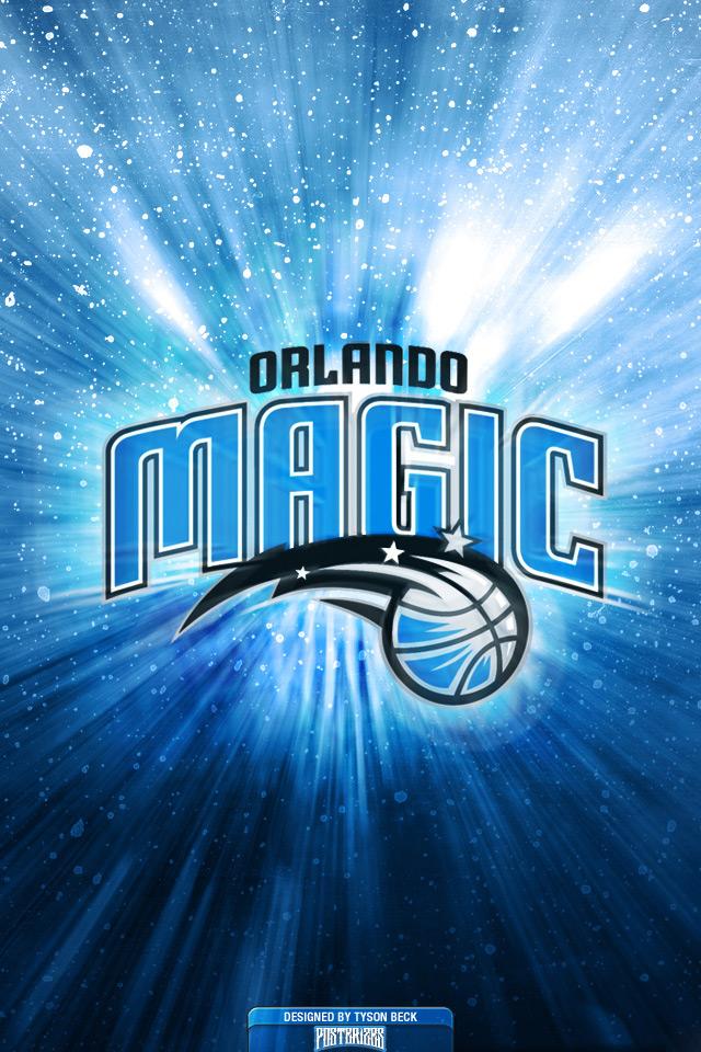 Orlando Magic Logo Wallpaper Posterizes NBA Wallpapers 640x960