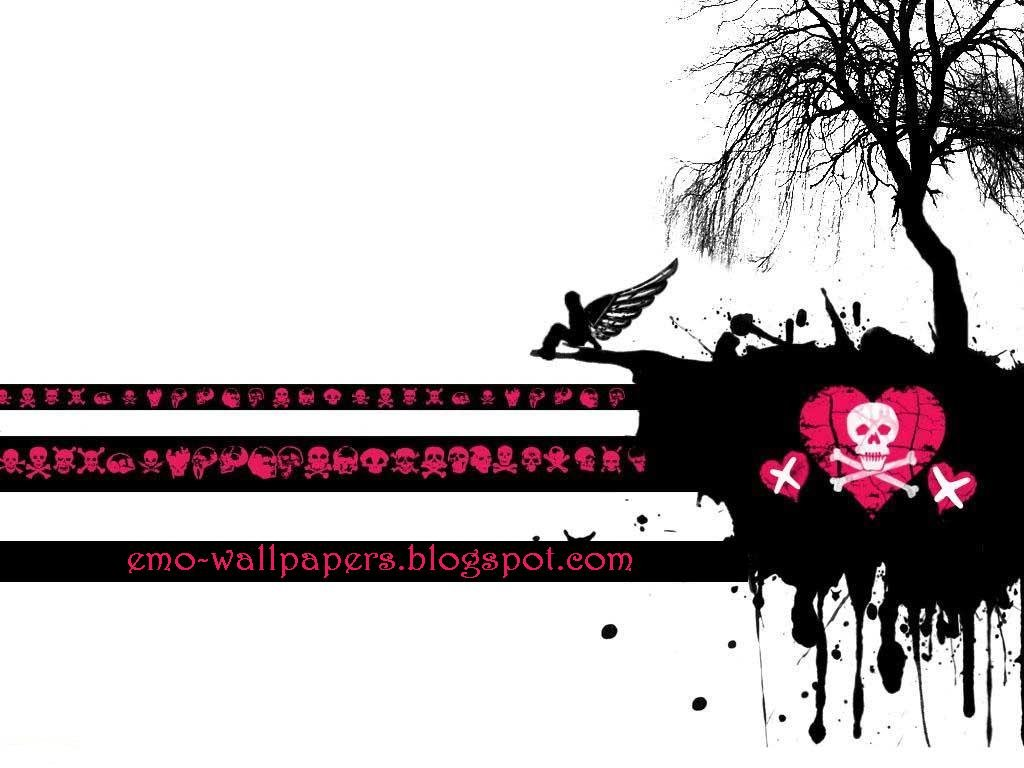 Emo Wallpaper 1024x768