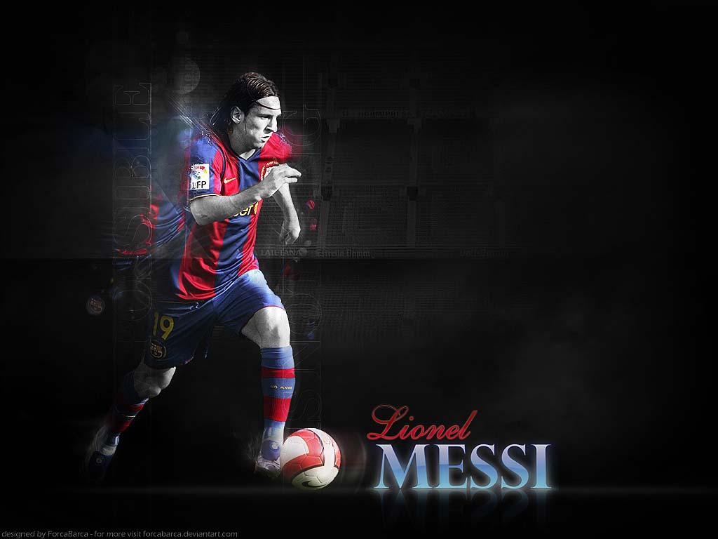sports stars: lionel messi wallpapers 2011