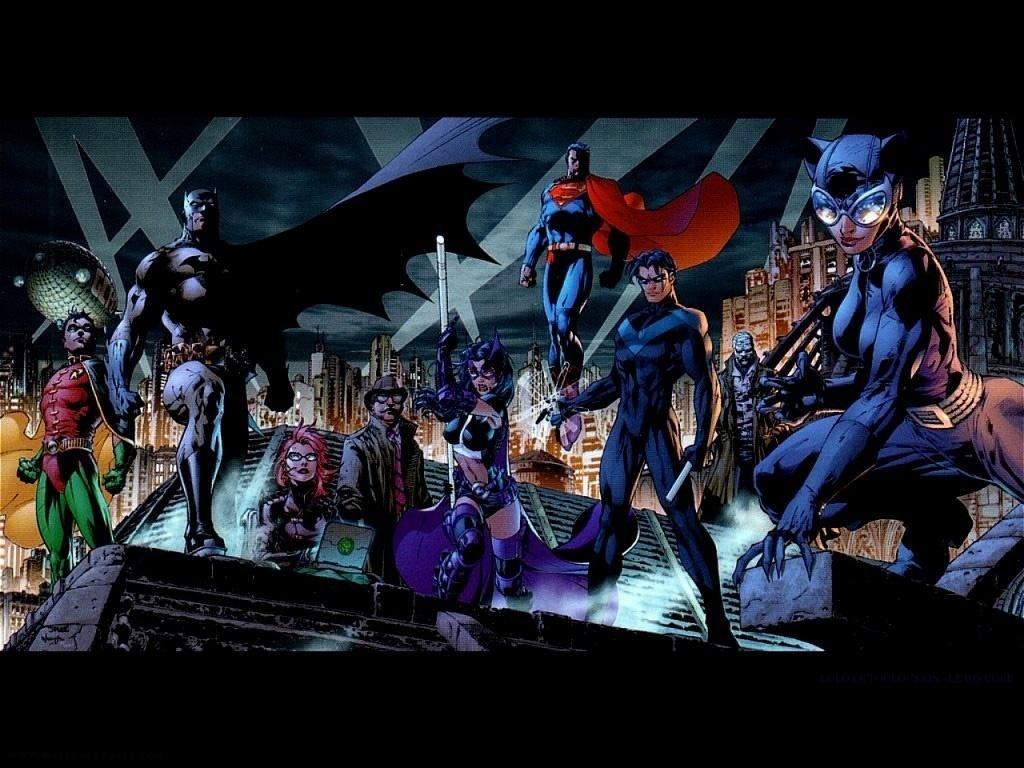 Batmans Allies   DC Comics Wallpaper 9263341 1024x768