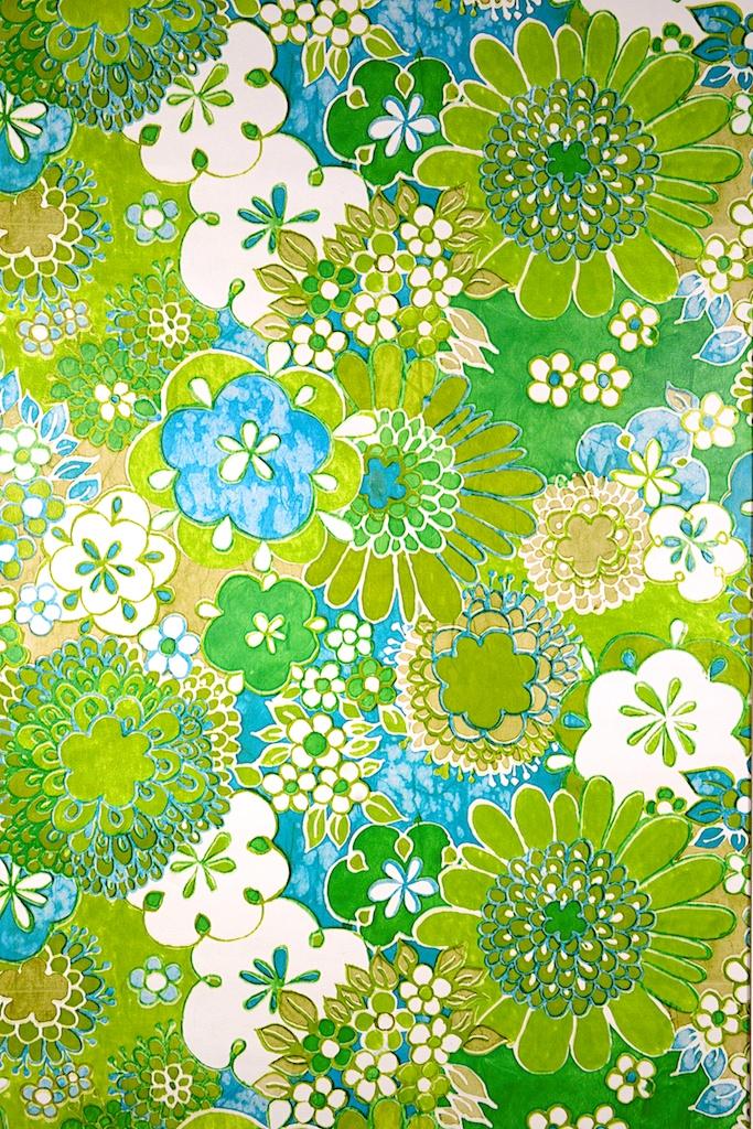 Turquoise Floral Wallpaper Wallpapersafari
