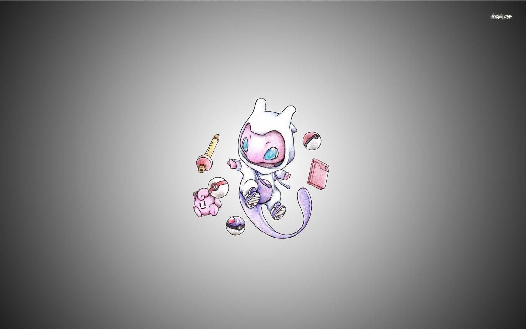 Pokemon Mew Wallpapers 1680x1050
