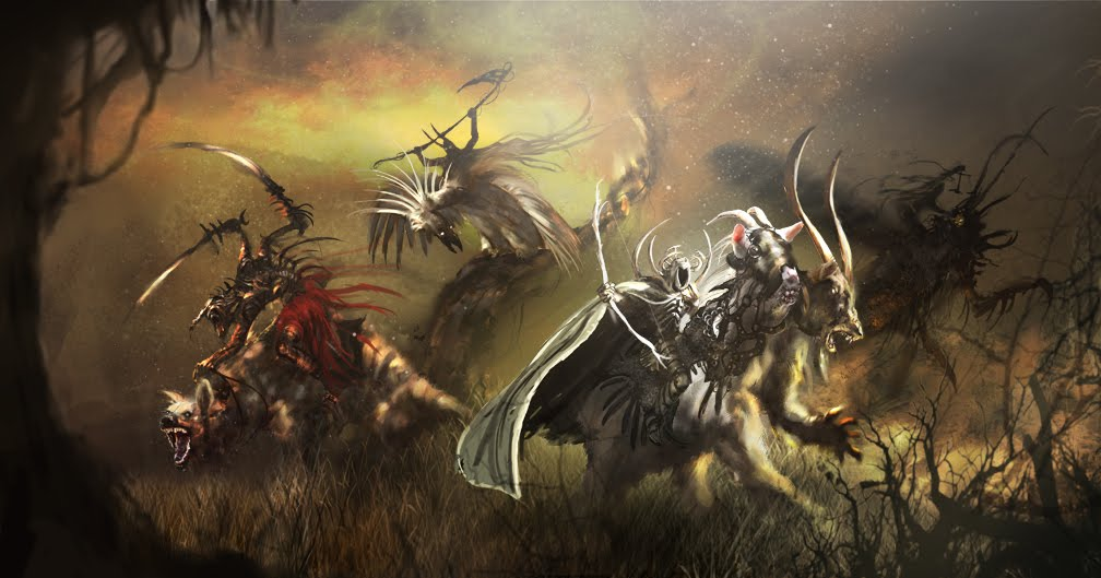 Pin Four Horsemen Of The Apocalypse Wallpaper 1008x529
