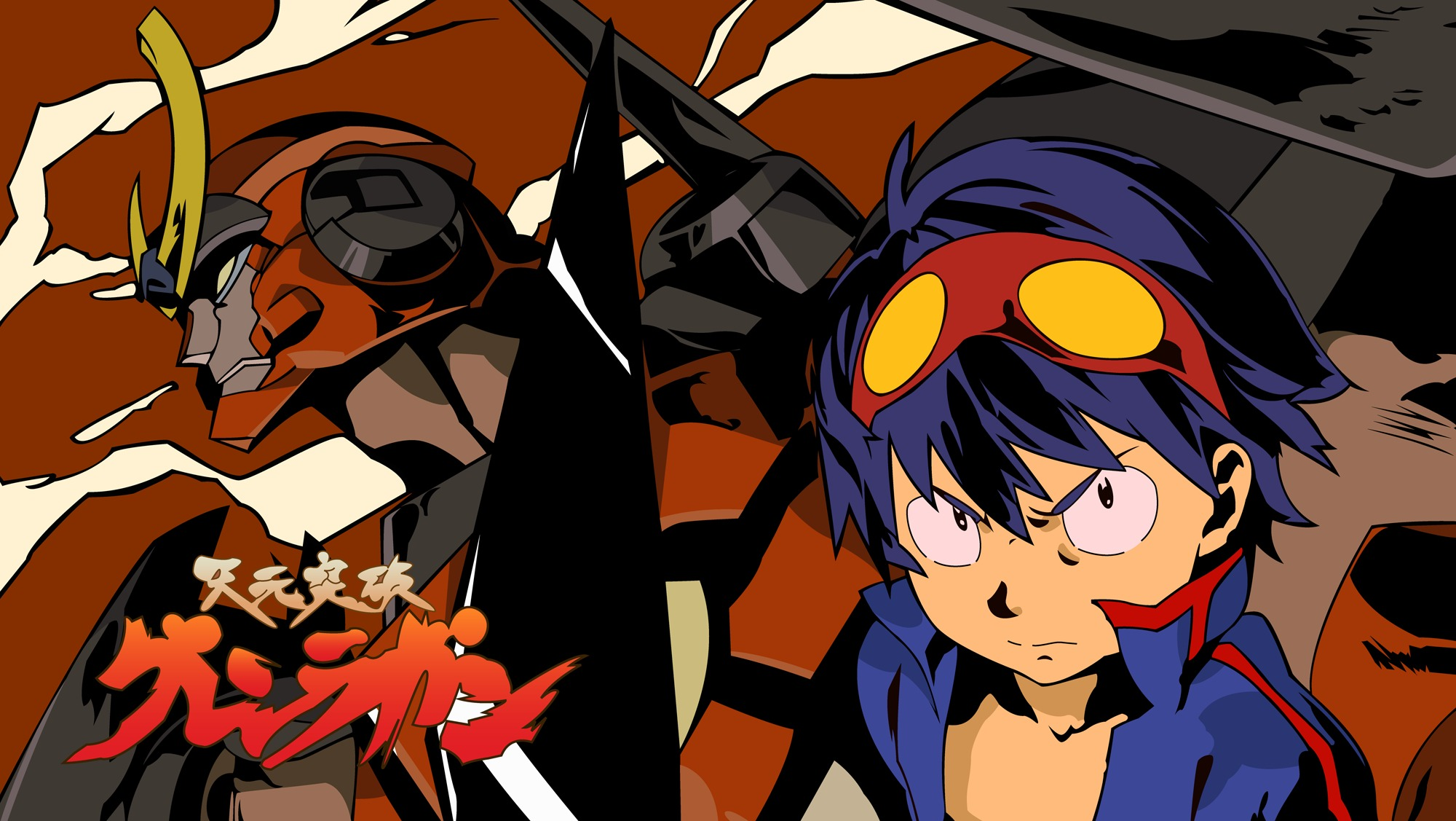 45 gurren lagann wallpaper 1080p on wallpapersafari - Gurren lagann wallpaper ...