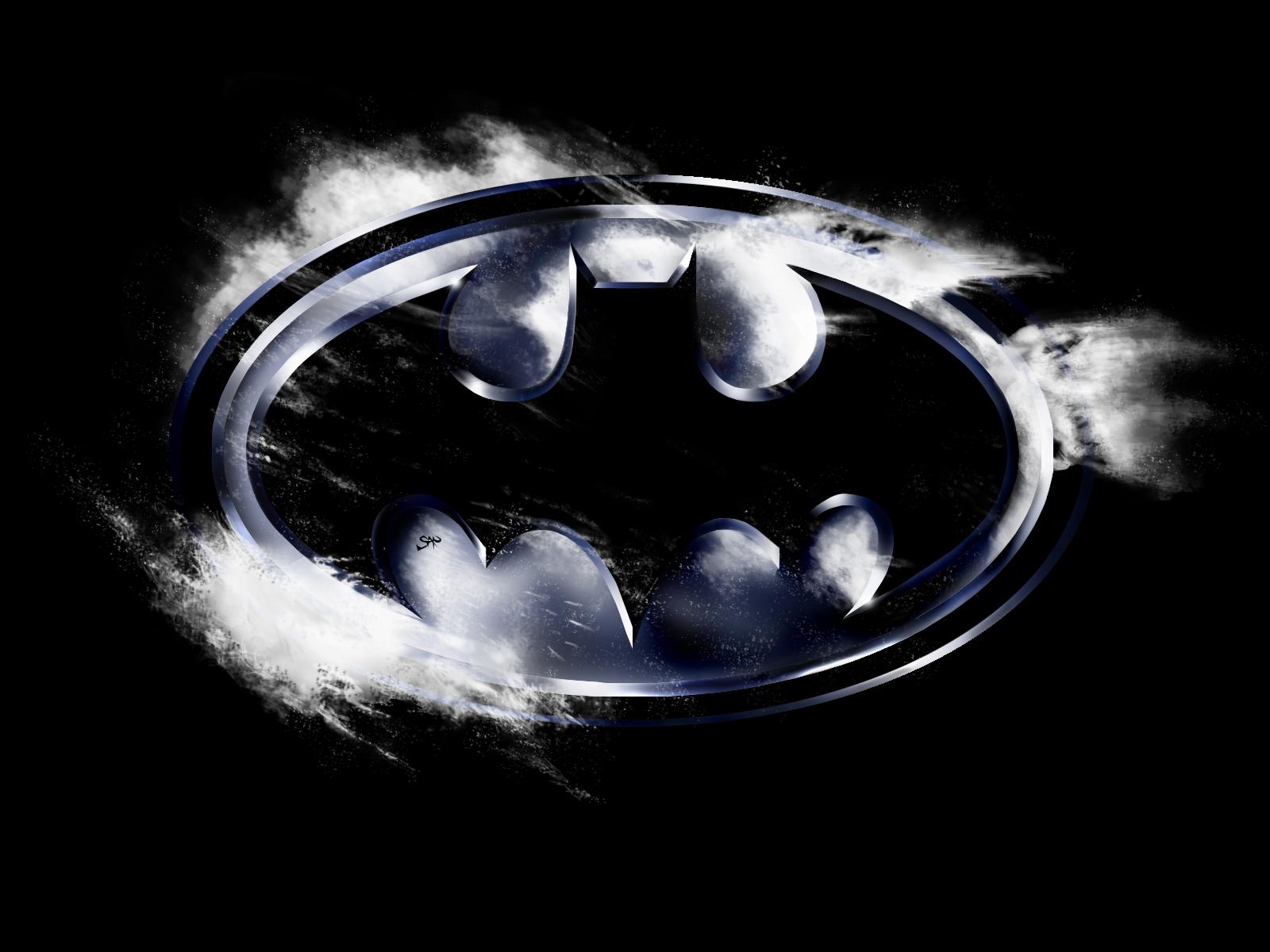 Dark Batman Logo HD Wallpaper Vector Designs Wallpapers 1600x1200