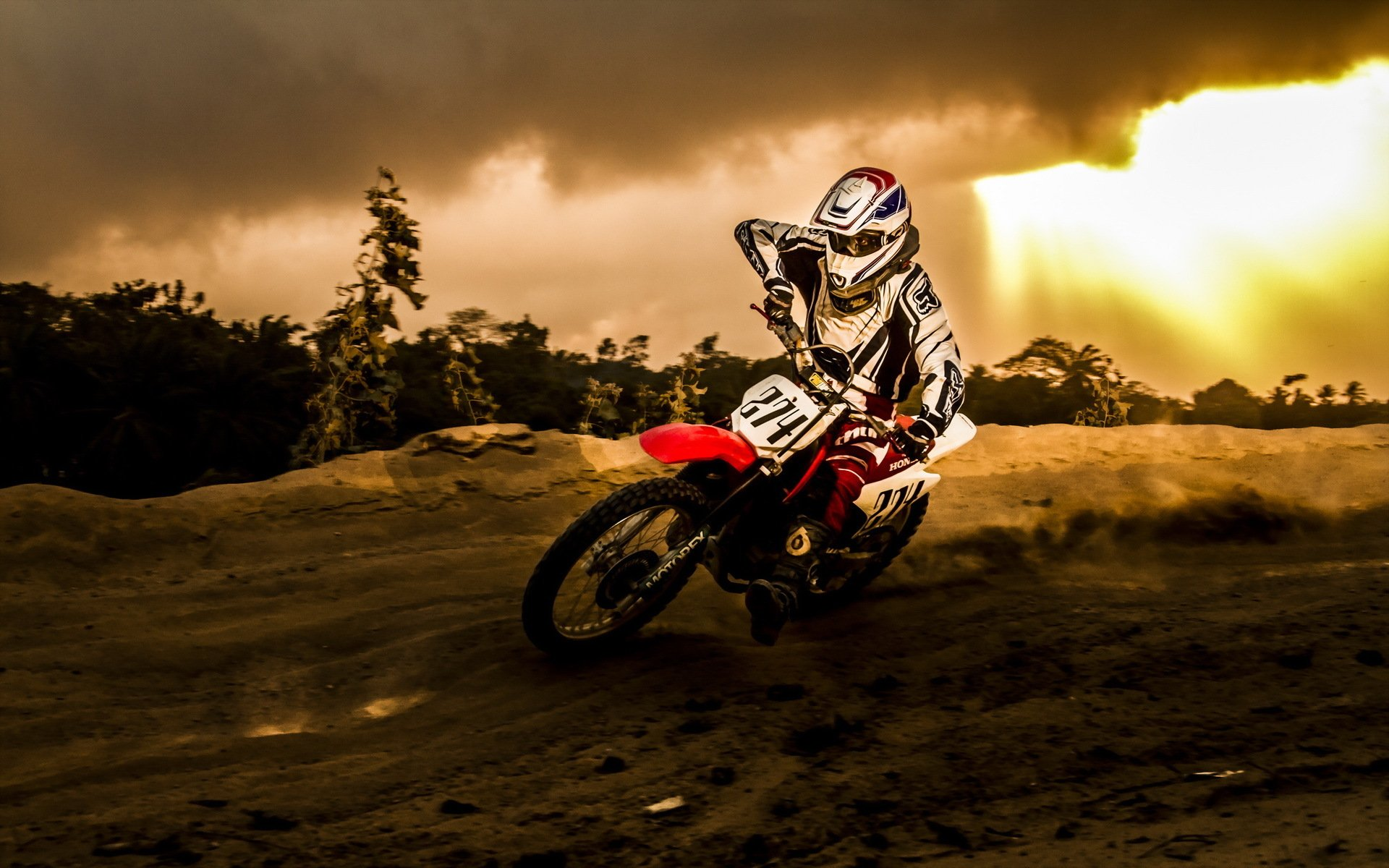 Motocross Ktm HD Wallpapers 1920x1200