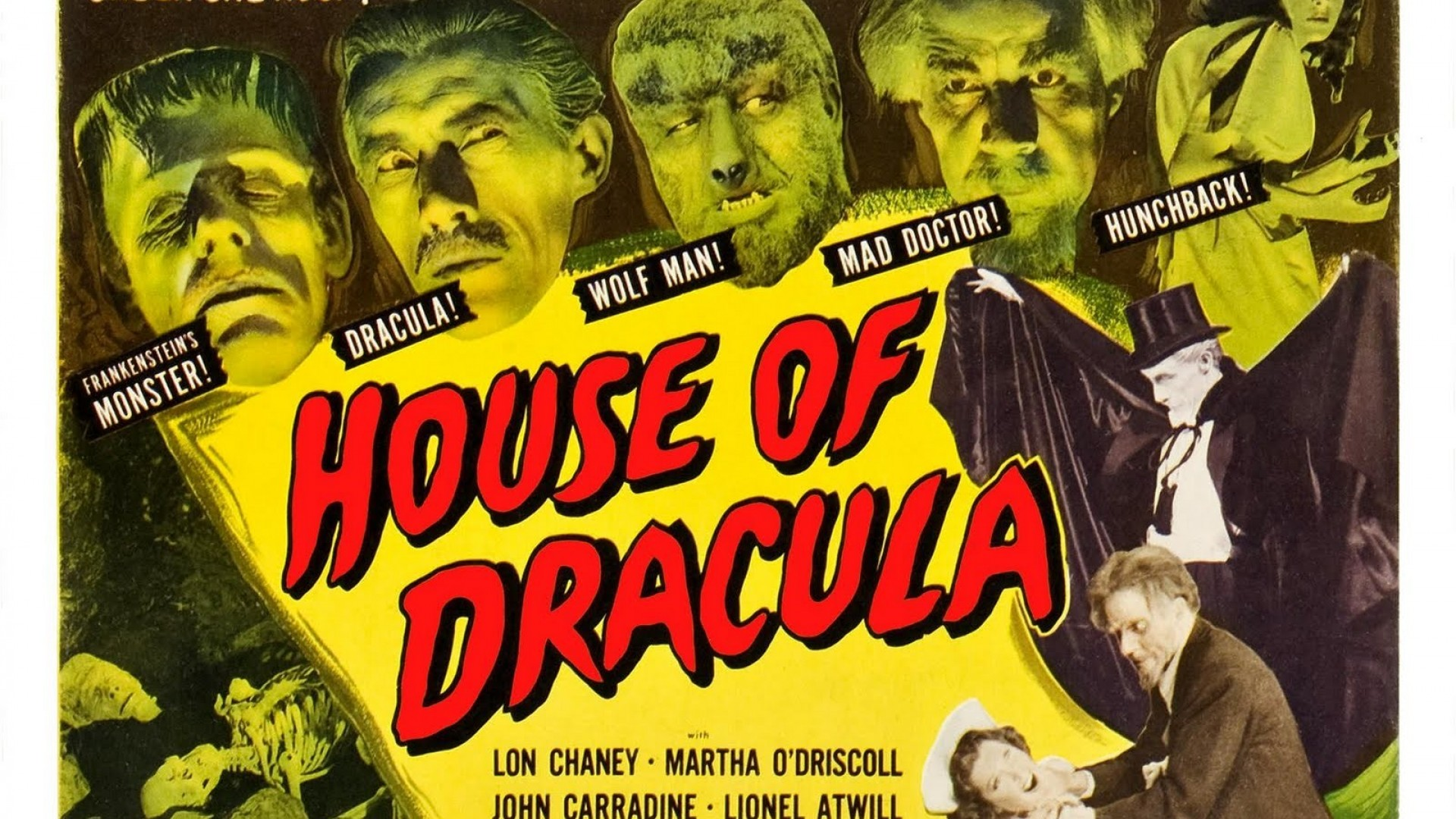 Classic Horror Movie Posters Dracula Horror vintage dracula movie 1920x1080