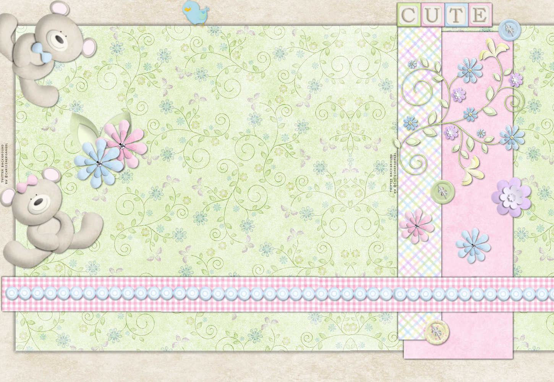 Baby background images wallpapersafari - Baby animation wallpaper ...