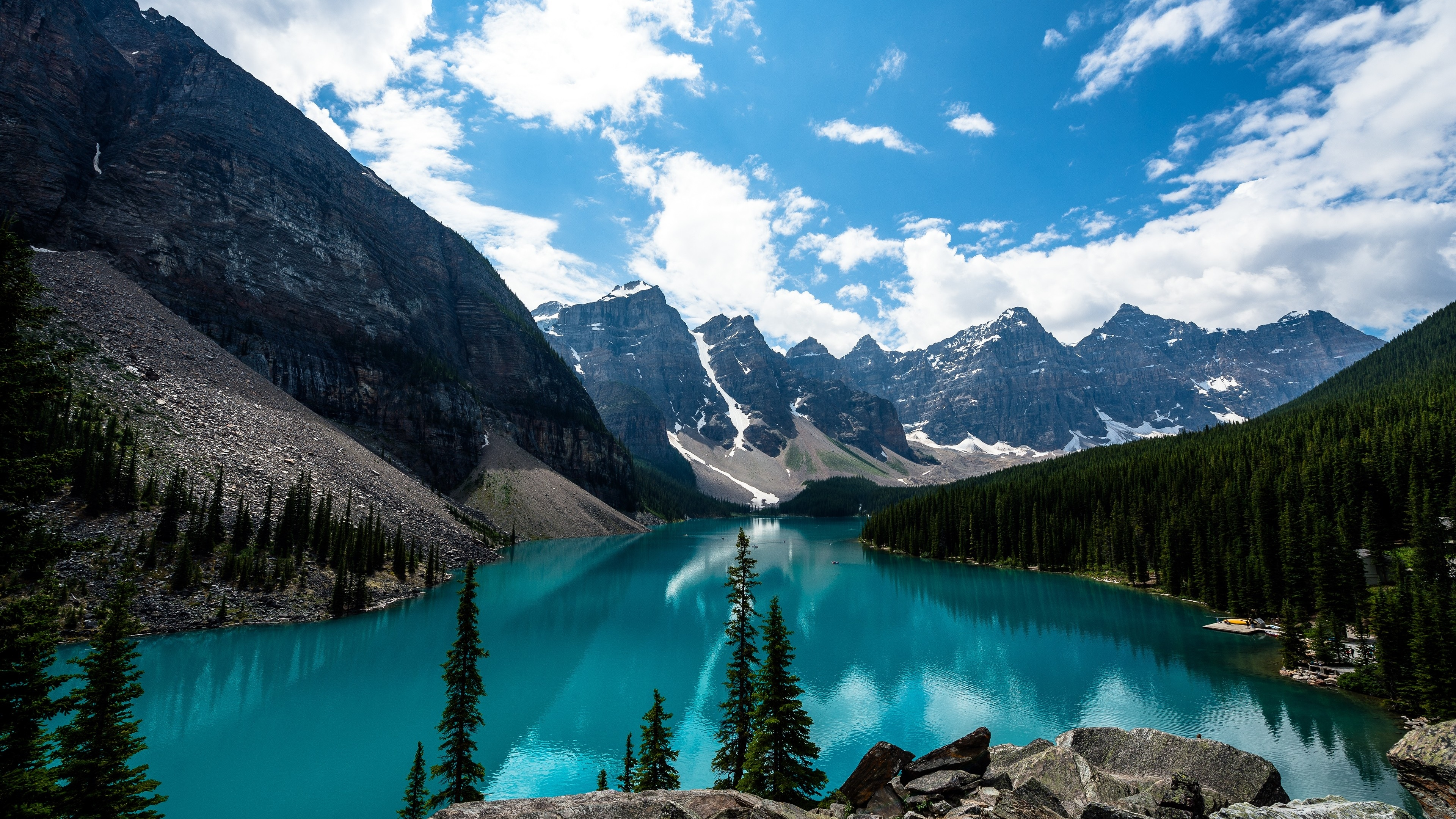 Lake Louise Canada 4K Ultra HD wallpaper 4k WallpaperNet 3840x2160