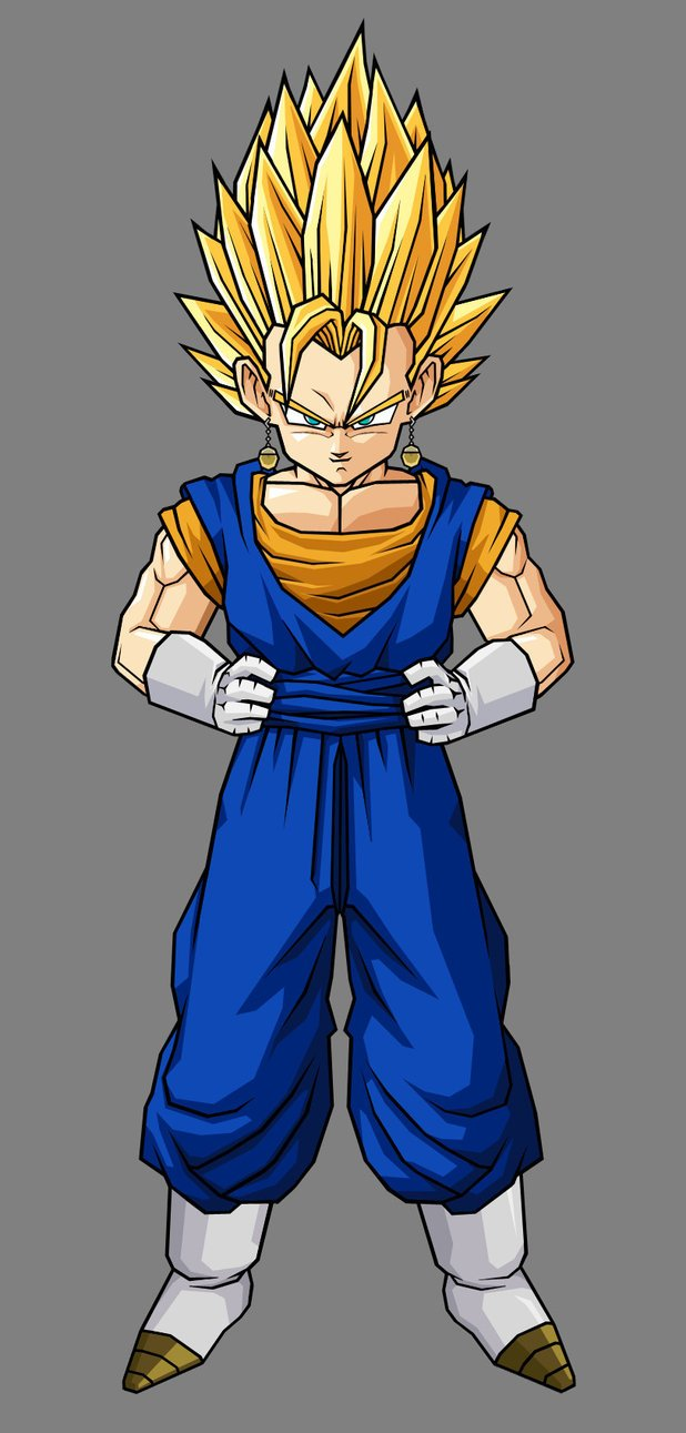 Kid Super Vegito by hsvhrt 618x1291