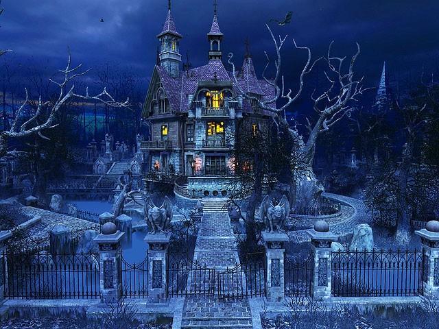 Haunted House 3D Screensaver 20 640x480