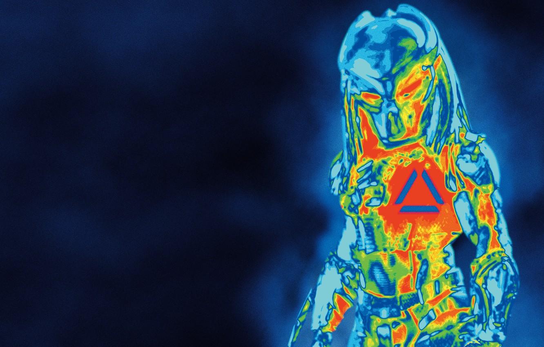 Wallpaper background silhouette alien Predator Thriller 1332x850