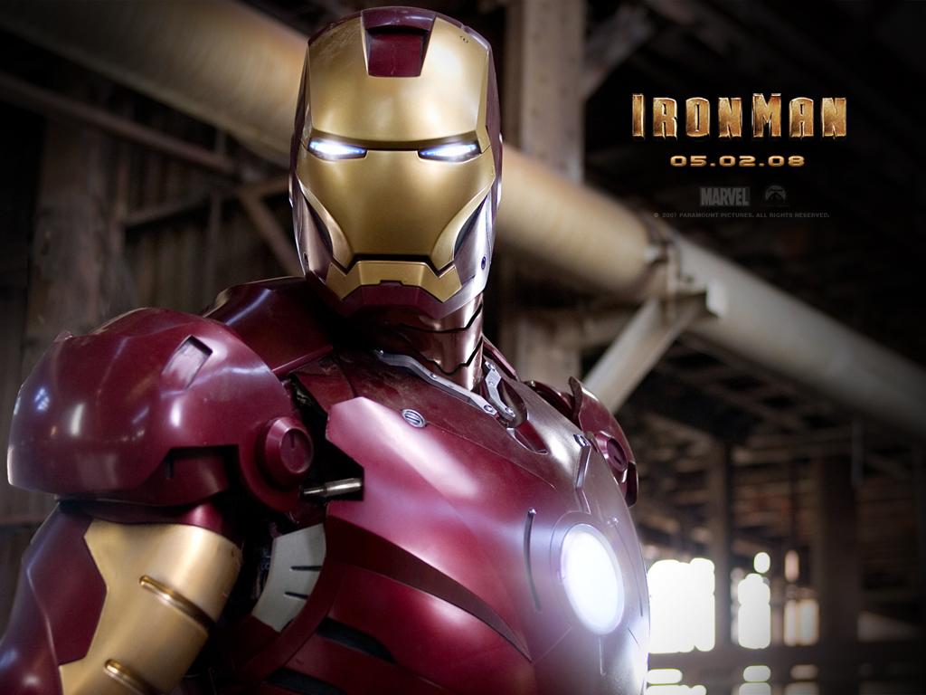 Download Iron Man 2008 wallpaper Iron Man 2008 Cool 1024x768