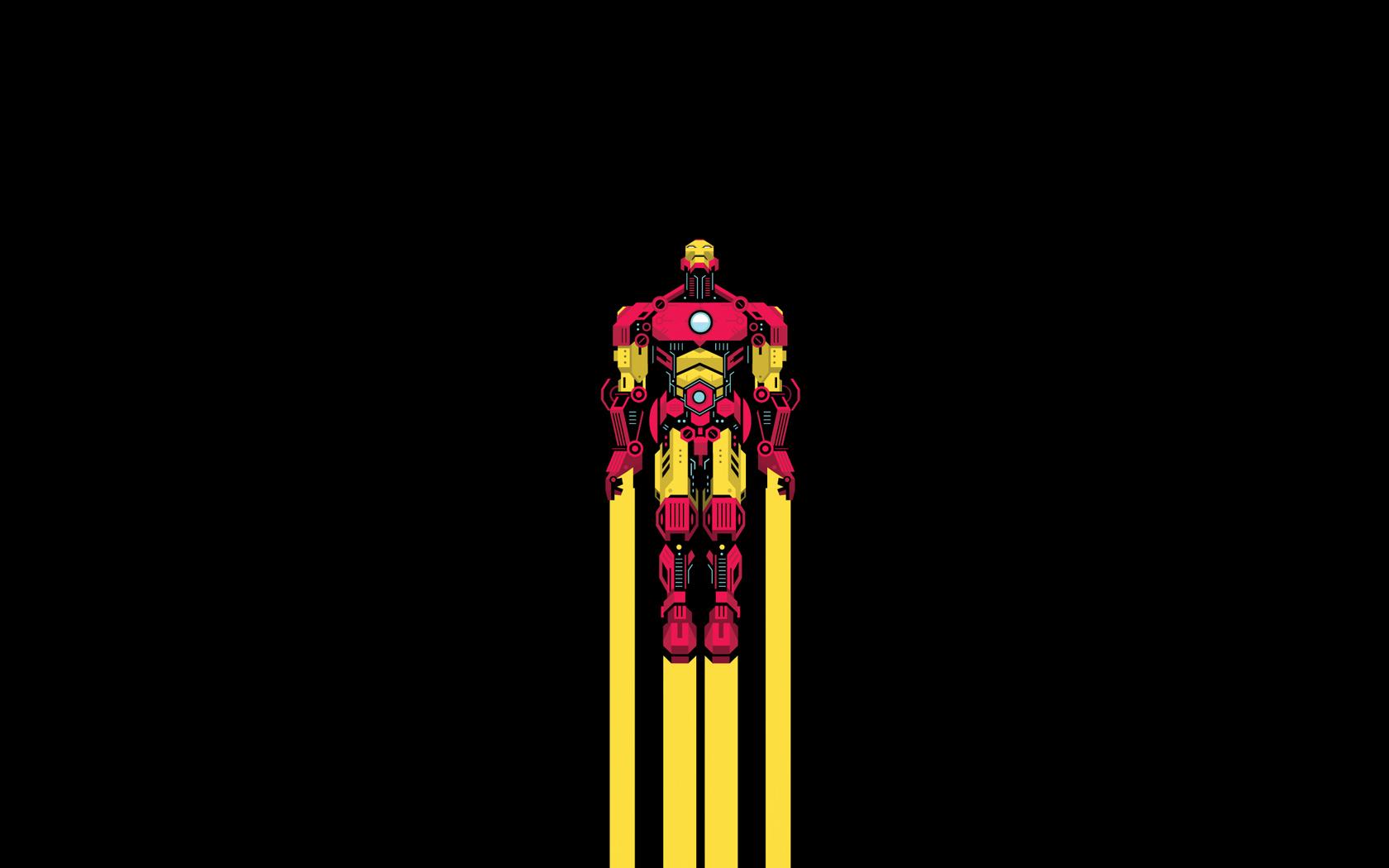 Minimalist Superhero Wallpapers Iphone Minimal heroes by bunka 1680x1050