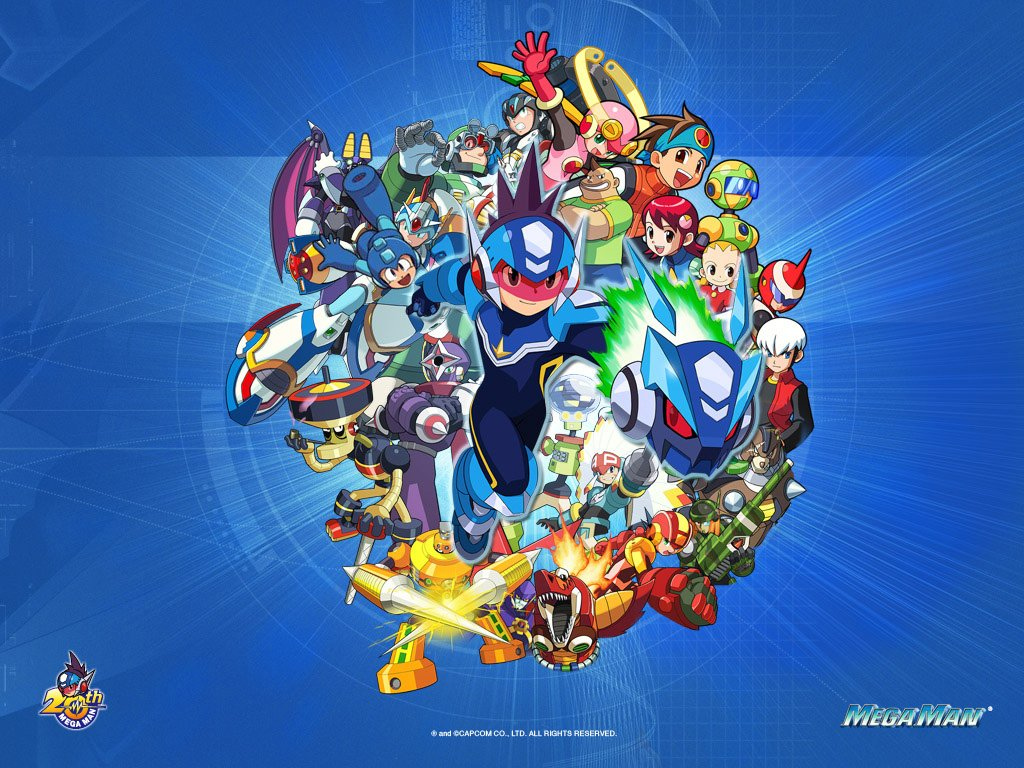 77+] Megaman Starforce Wallpaper on