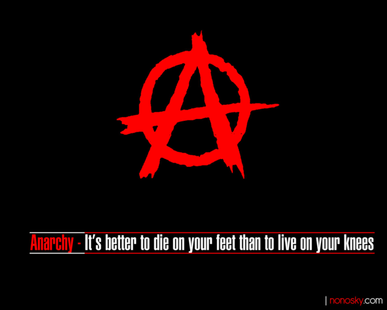 New 500 screensaver Anarchy screensaver 1280x1024