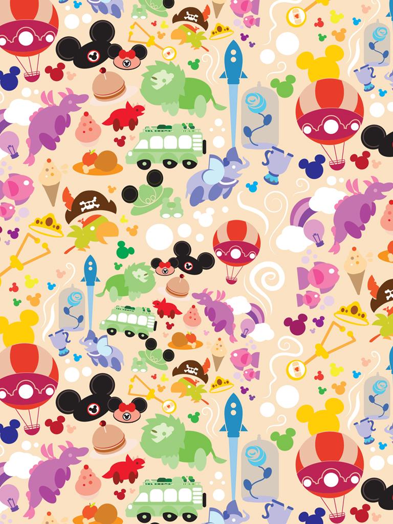 DisneyKids Download Our Playful Walt Disney World Resort Wallpaper 768x1024