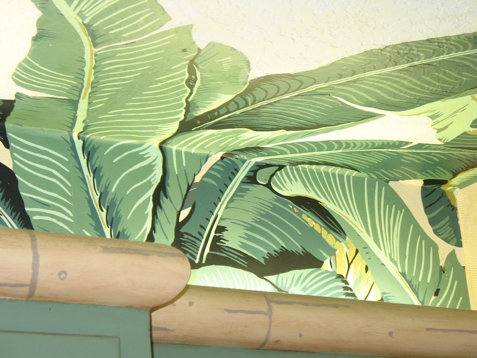 Banana Leaf Pattern Fabric   Viewing Gallery 1600x1200