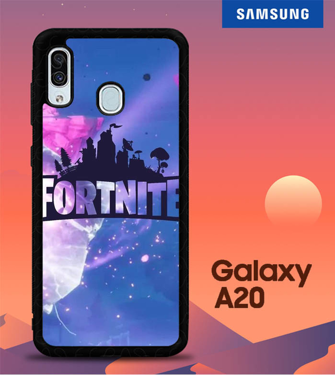 Wallpaper Fortnite FJ0693 Samsung Galaxy A20 Case   Flazzy Store 1144x1280