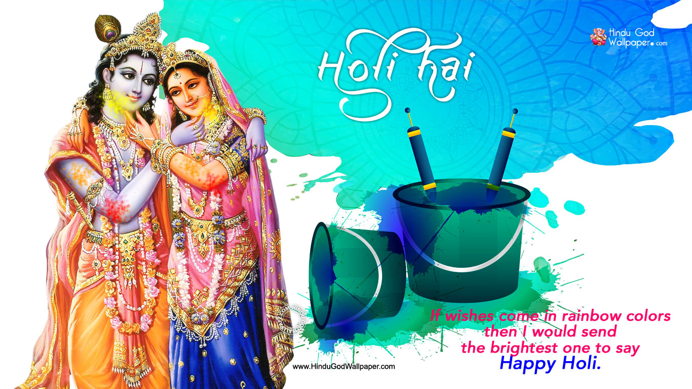 Happy Holi 2021 Wallpapers  Holi Pictures Holi Images Download 1366x768