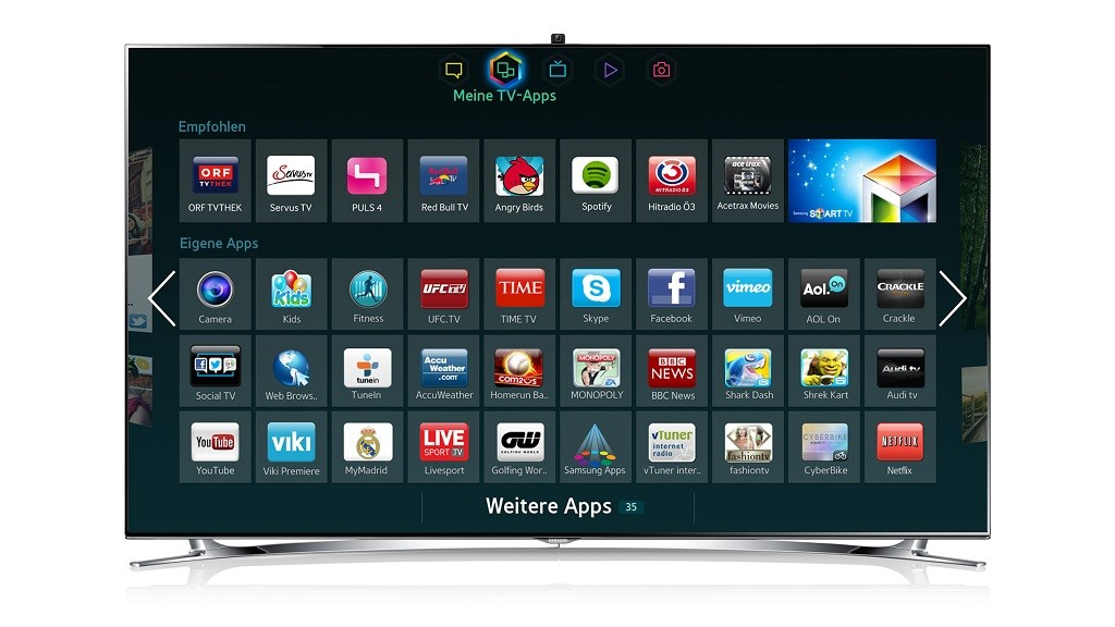 applications gratuites samsung smart tv