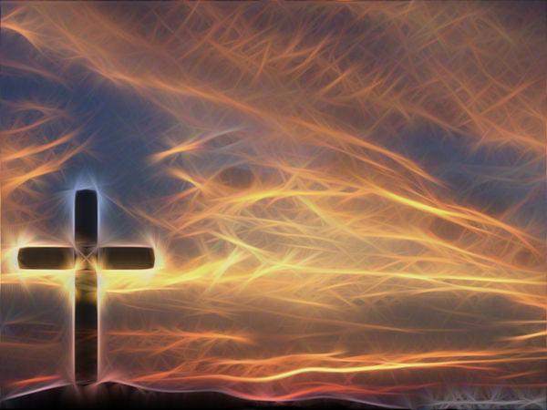 Cross Sky Christian Wallpaper Background a GIMP edit of my original 600x450