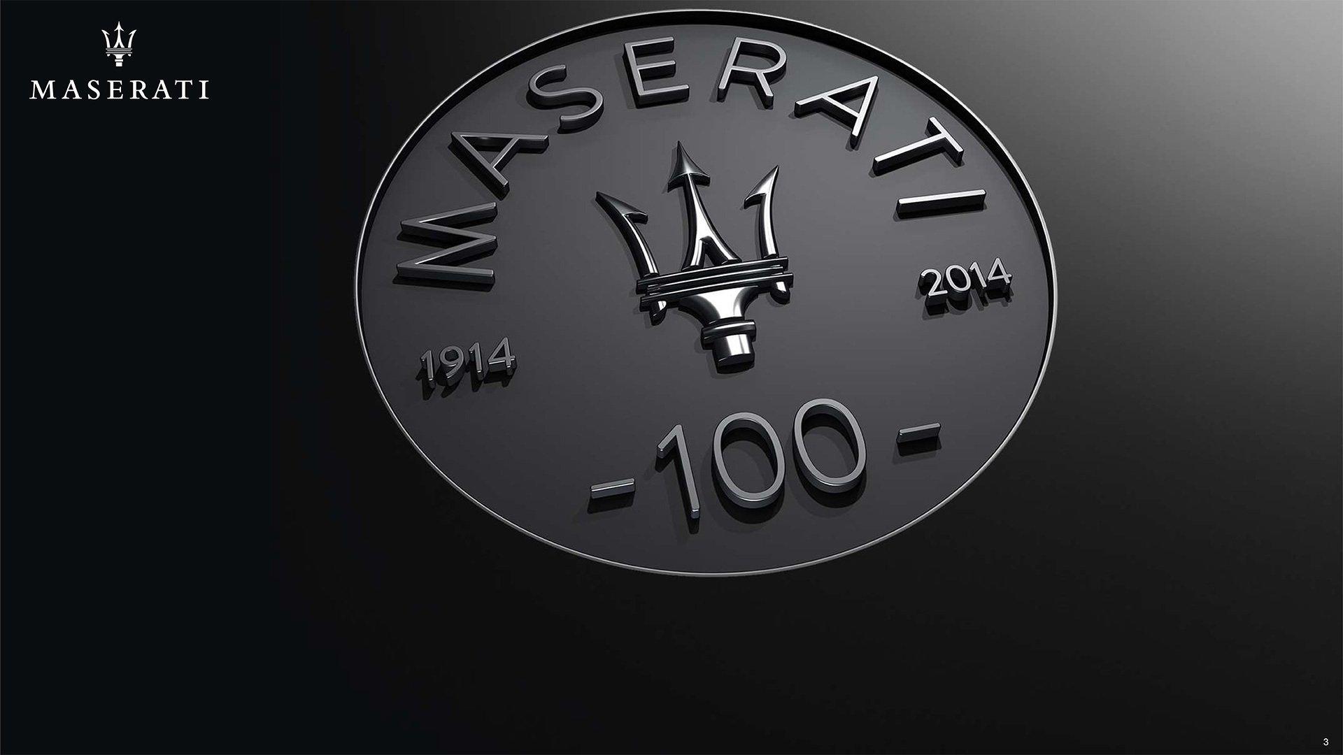 Logo Wallpaper Maserati Car 1920x1080