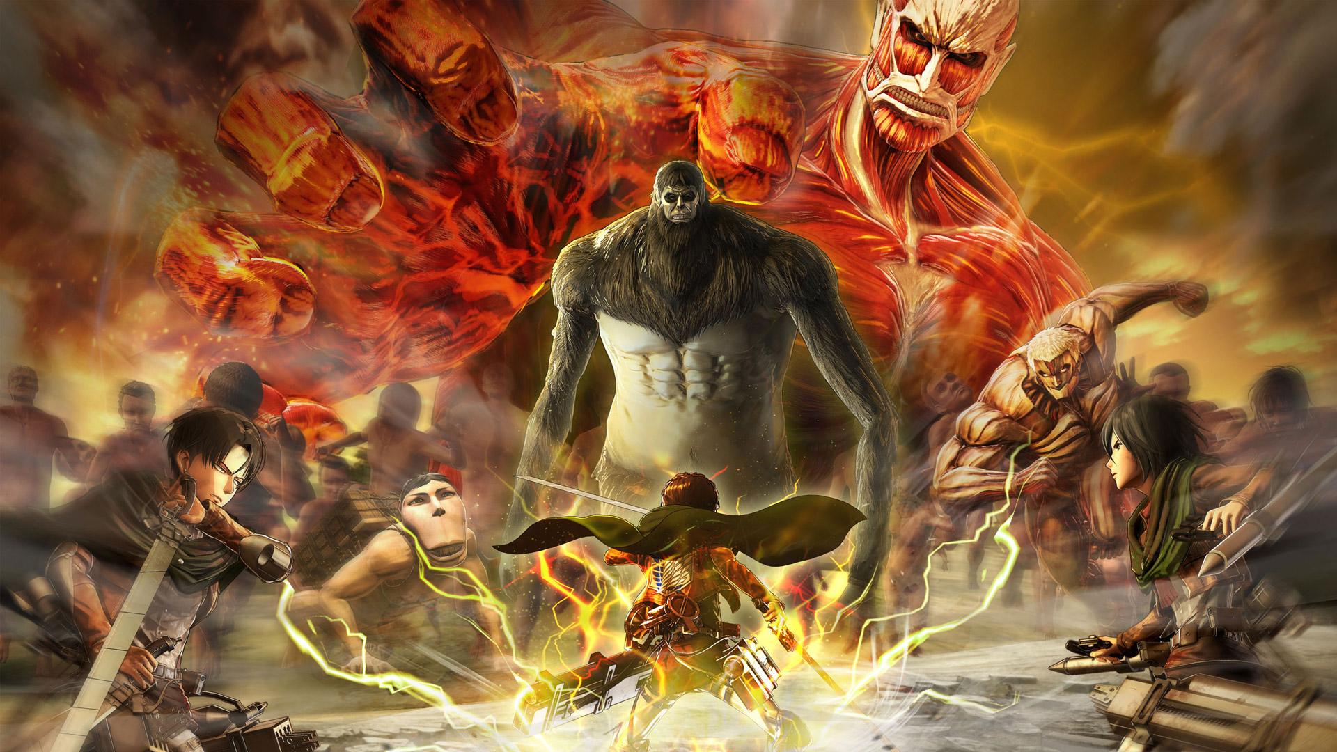 Attack On Titan 2 Wallpaper In   Attack On Titan 2 Final 1920x1080