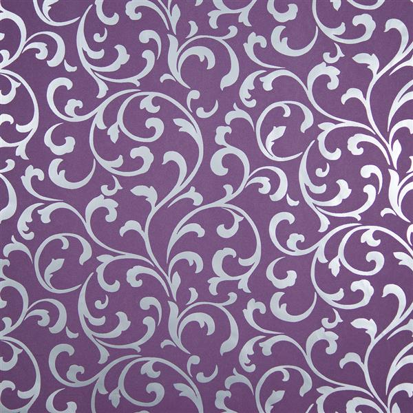 Silver and purple wallpaper wallpapersafari for Purple and silver wallpaper