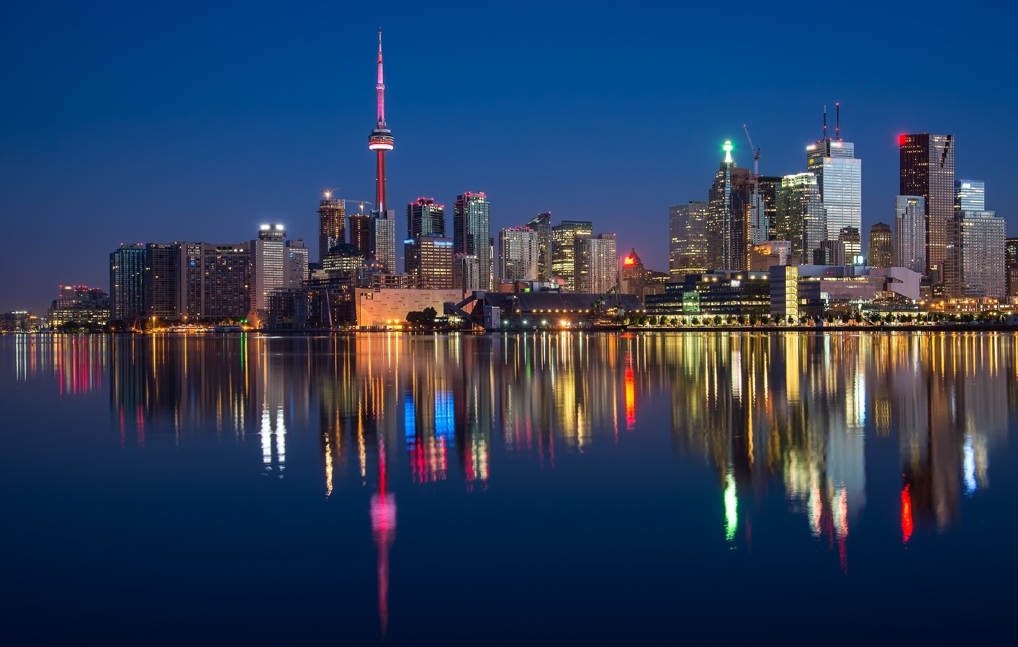 Toronto Canada Hd Desktop Wallpaper High Definition Mobile Picture 2048x1302