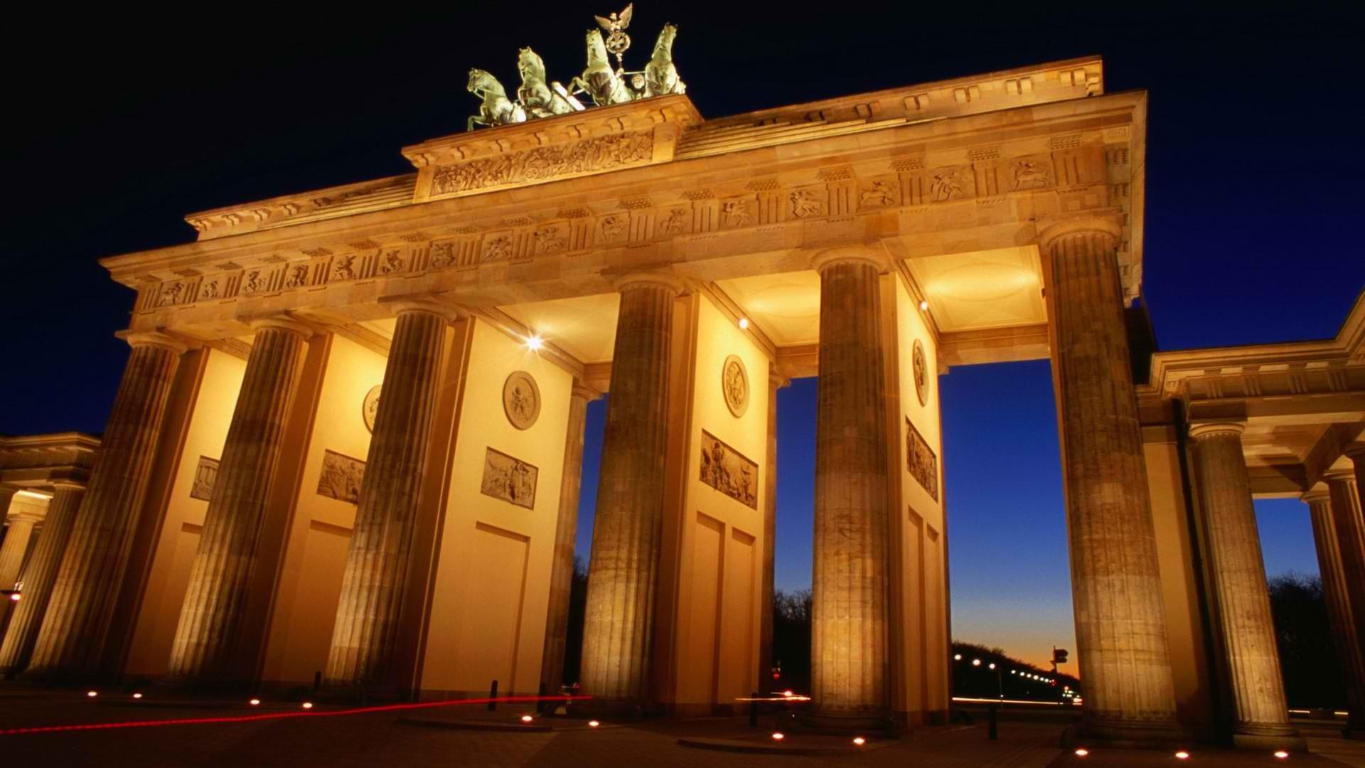 Brandenburg Gate HD Wallpaper 1920x1080 ID46103 1920x1080