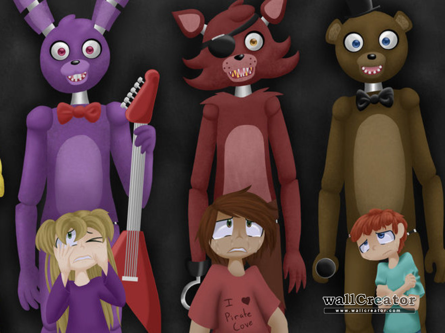 awesome fnaf wallpaper   2000 1125 Wallpaper 1500x1125