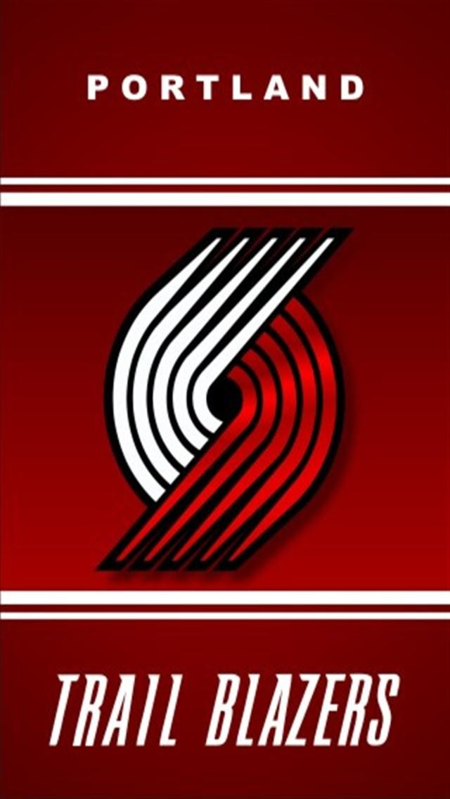 Showing Gallery For Trail Blazers Logo Wallpaper 640x1136