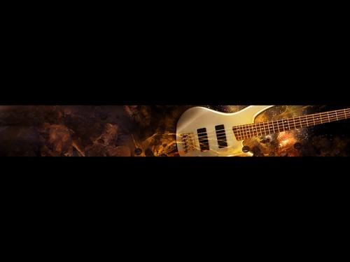 Bass wallpaper border wallpapersafari - Guitar border wallpaper ...