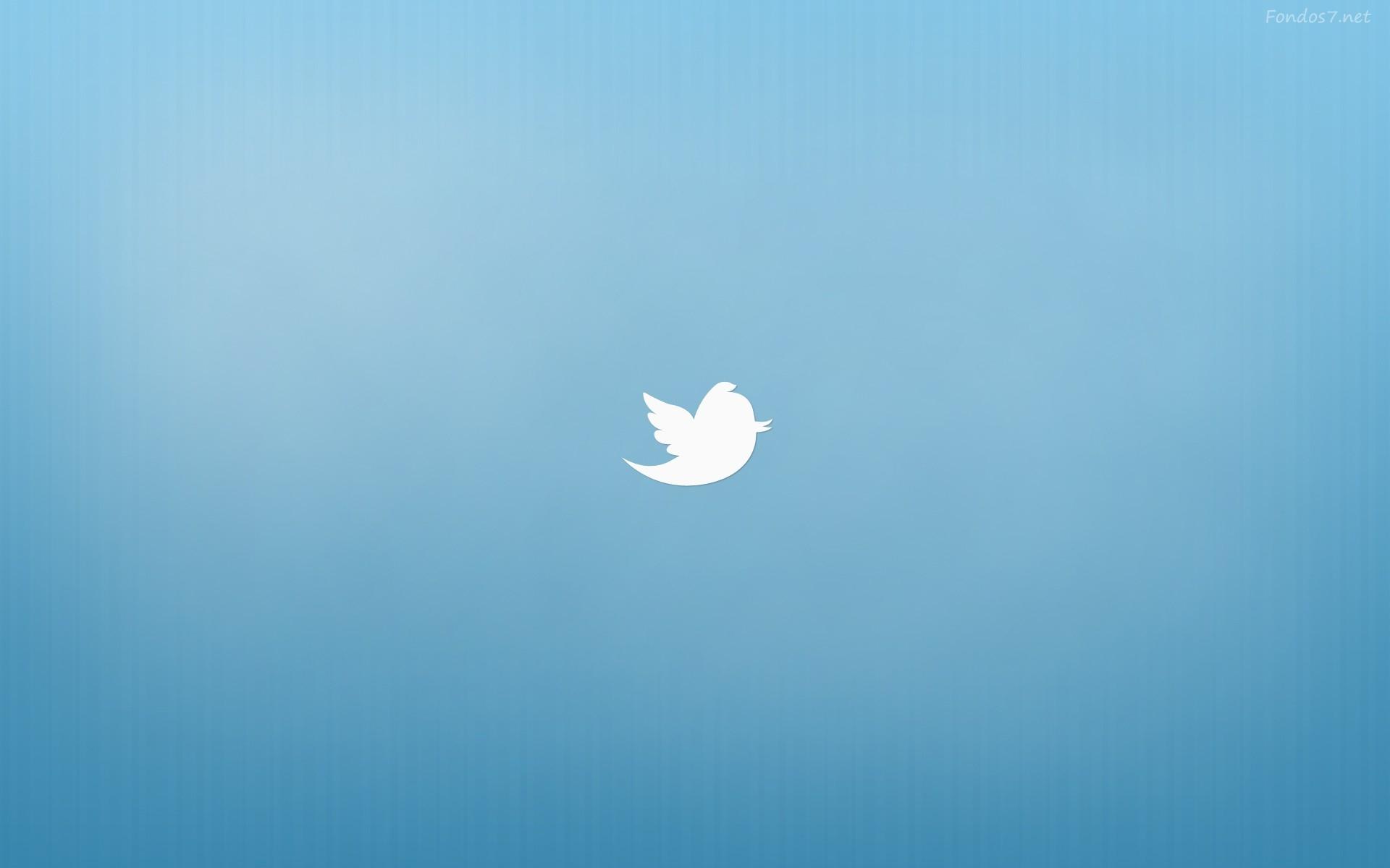 Descargar Fondos de pantalla twitter fondo azul hd widescreen Gratis 1920x1200